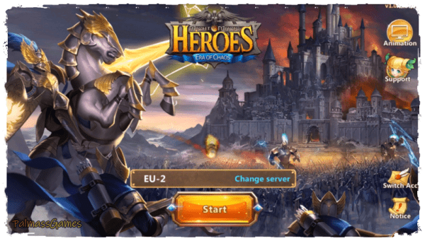 Sword and Magic. Heroes: era of chaos