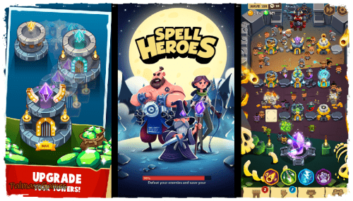 Spell Heroes - Tower Defense Android Apk