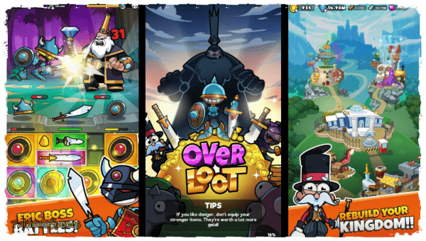 Overloot – Loot Merge & Manage your gear! Android Apk