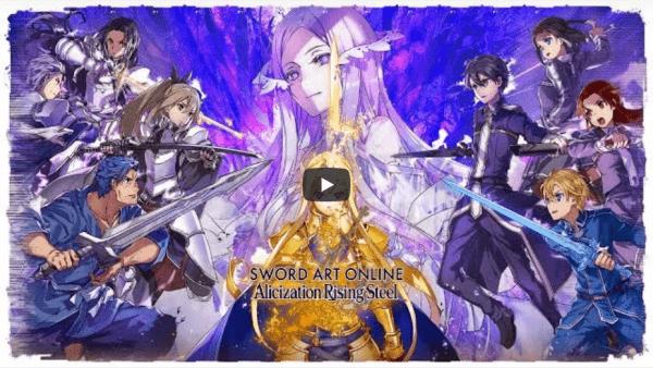 Sword Art Online Alicization Rising Steel | APK Android