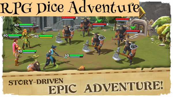 RPG Dice Adventure