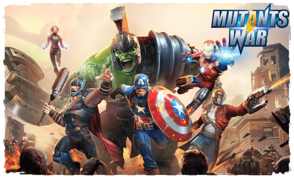 Mutants War: Heroes vs Zombies MMOSLG
