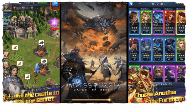 Abyss Puzzle: Cards of Destiny Android Apk