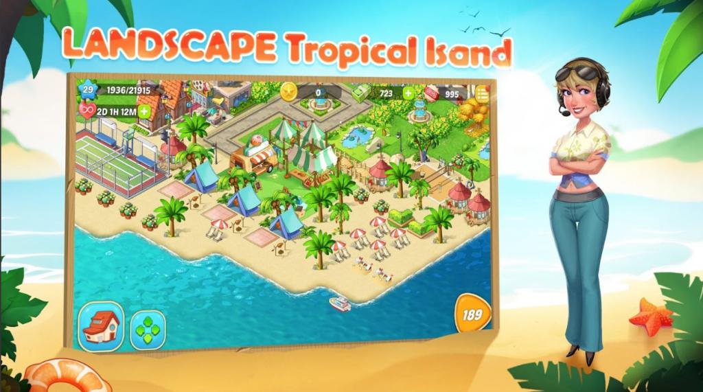 My Tropicaland: Food Paradise