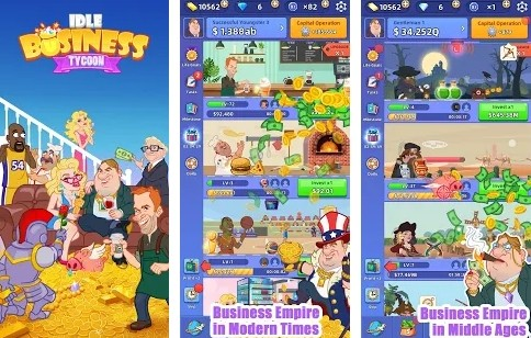 Idle Business Tycoon Manage Shops & Factories