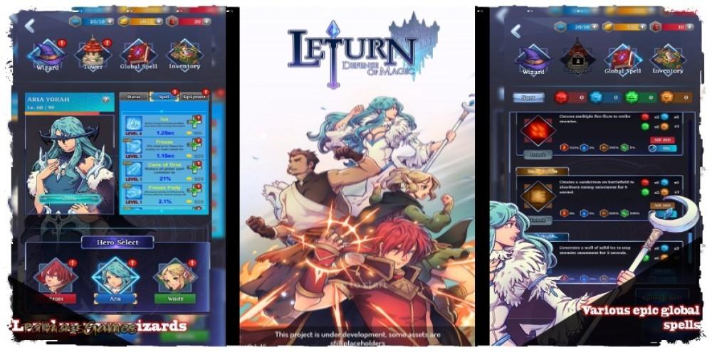 Leturn - Defense of Magic