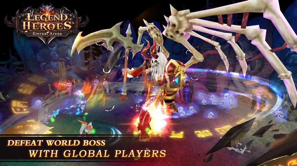 Legend of Heroes : Eternal Arena
