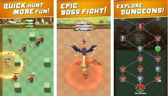 Arcade Hunter: Sword Gun and Magic