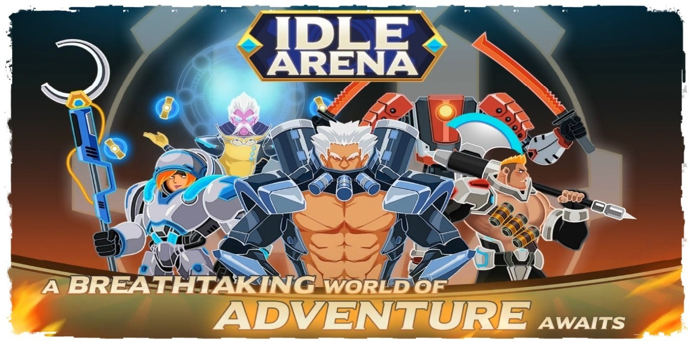 Idle Arena - Battle of Heroes: Clicker Game