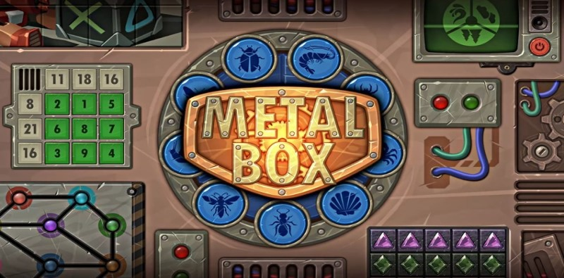 Metal Box ! Hard Logic Puzzle