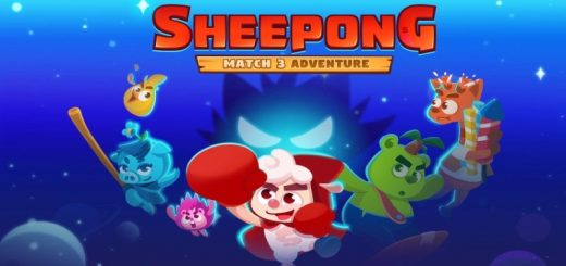 Sheepong : Match-3 Adventure