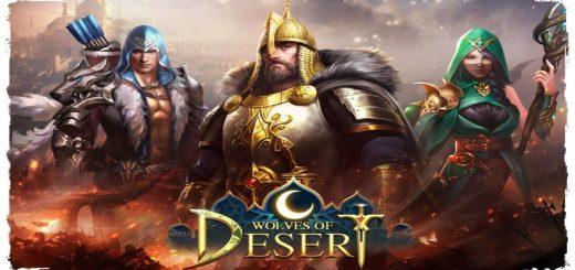 Wolves of Desert