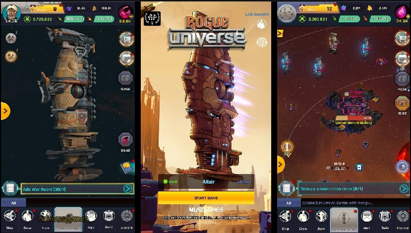 Rogue Universe: The Beginning of Space Wars