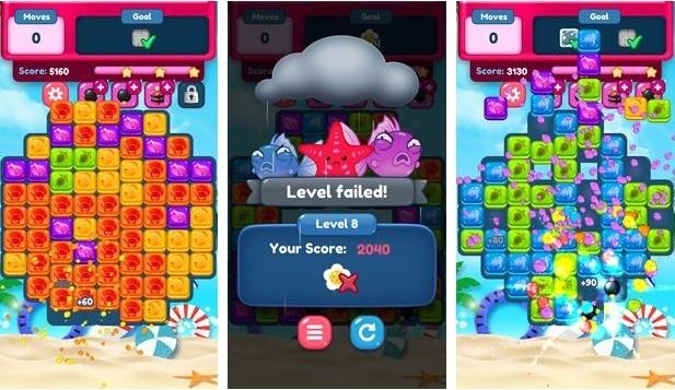 Summer Splash Match-3: Free Puzzle Games ™