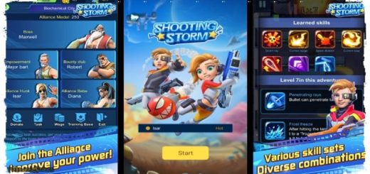 Shooting Storm - Roguelike