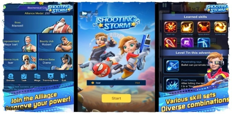 Shooting Storm - Roguelike