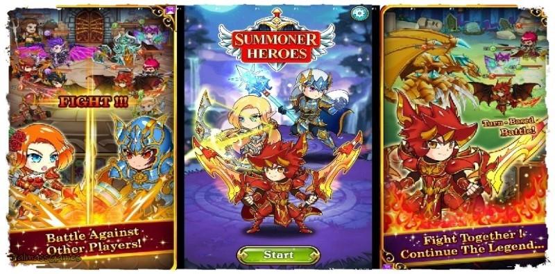 Summoner Heroes