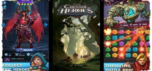 Crusade of Heroes: Puzzle RPG APK