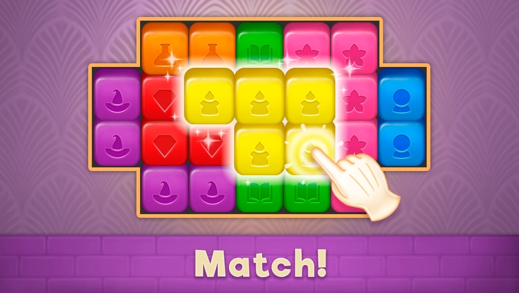 Magic Mansion: Match-3 Apk