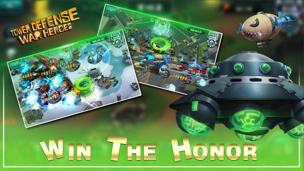 War Heroes:Tower Defense