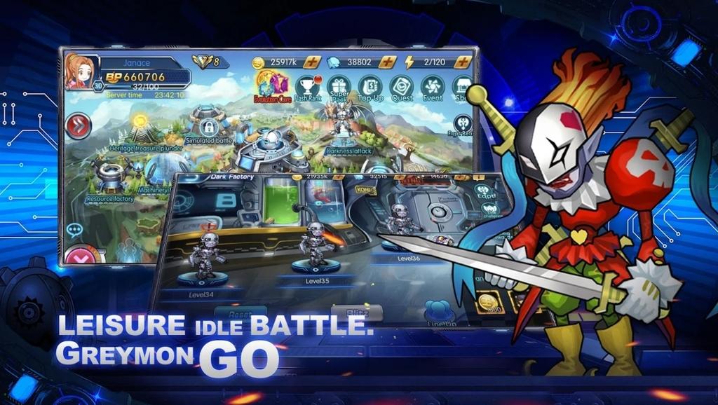 Greymon Go: Rookie to Mega