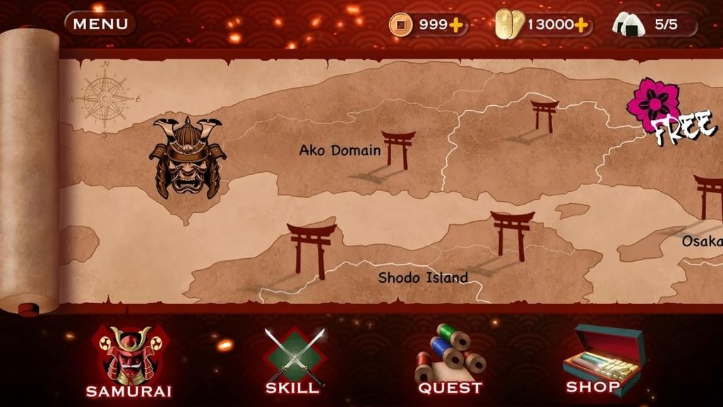 Samurai 3: Action RPG Combat - Slash Crush