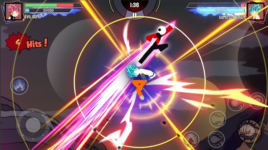 Stickman Warriors - Super Dragon Shadow Fight