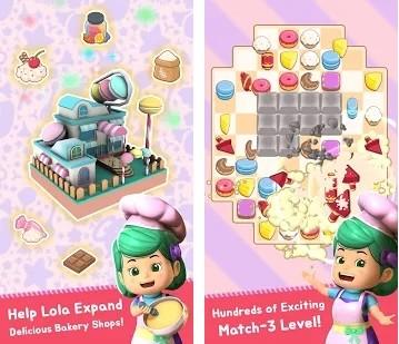 Lola Bakery - Puzzle & Idle Store Tycoon with Kiko
