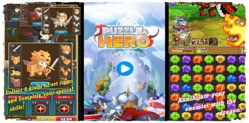 Puzzle and Hero
