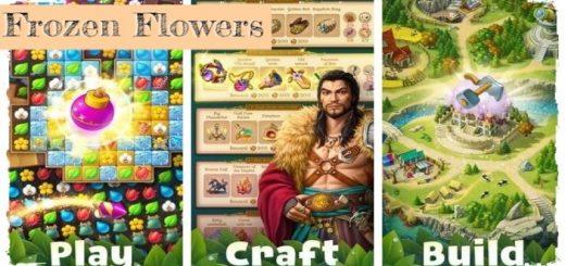Frozen Flowers: Match-3 Tale