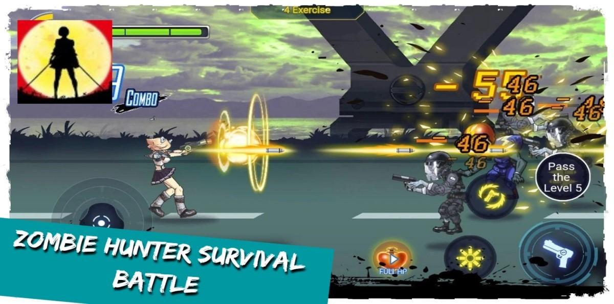 Zombie Hunter Survival Battle
