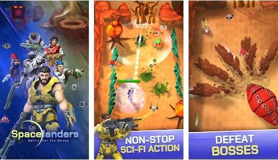 Spacelanders: 3D Sci-Fi Action RPG