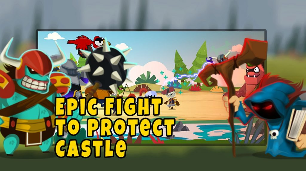 Castle Monsters: Battle of Hero Warriors