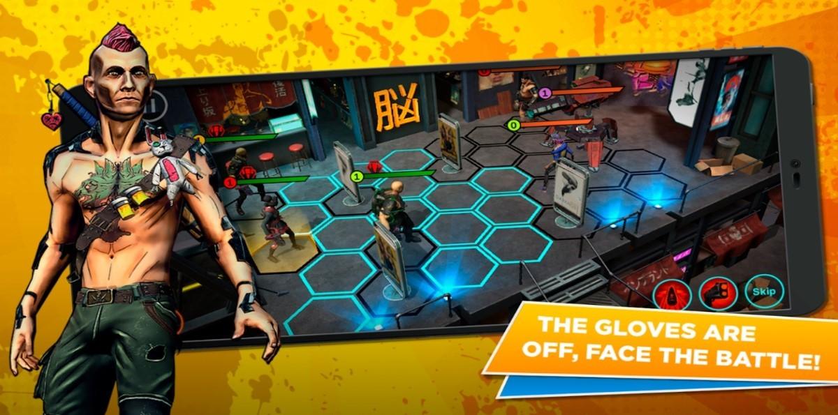 Cyberpunk battle arena