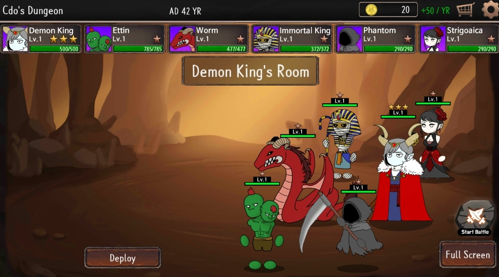 CDO:Dungeon Defense Game - Chief Dungeon Officer