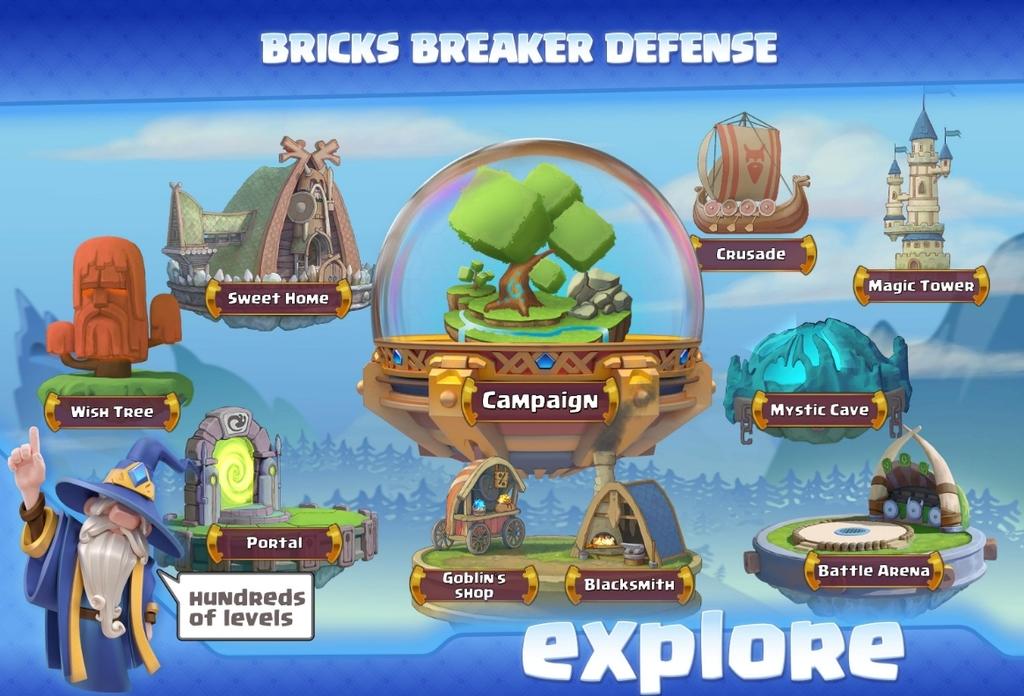 Spell Defense - Bricks Breaker