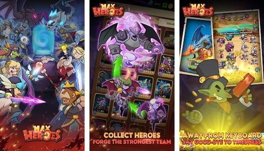 Max Heroes - Afk RPG Idle Game