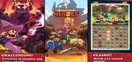 Match 3 Heroes