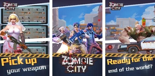 Zombie city 3D