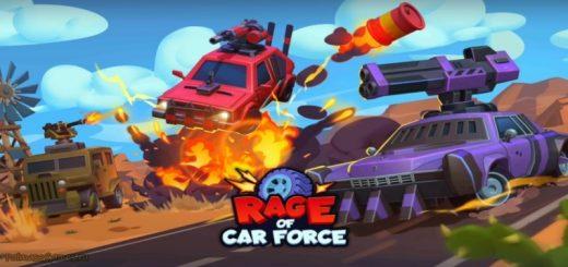 Rage of Car Force: Car Crashing Games