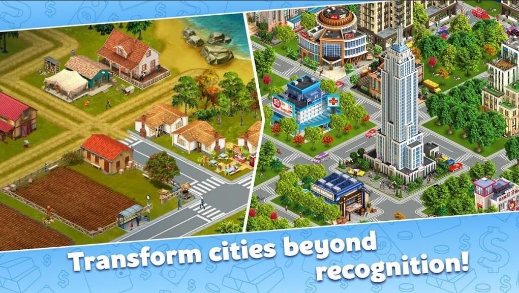 Golden Valley City: Build Sim