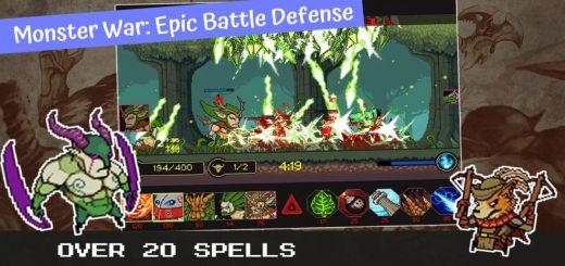 Monster War: Epic Battle Defense