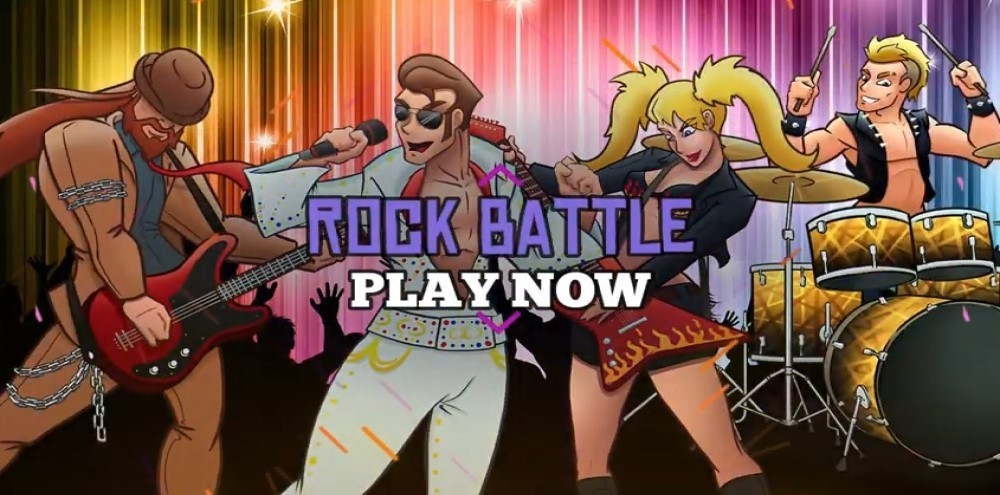 Rock Battle - Rhythm Music Game