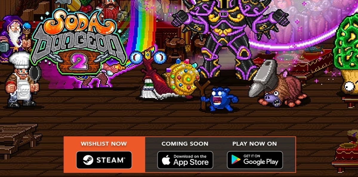 Soda Dungeon 2 (Early Access)