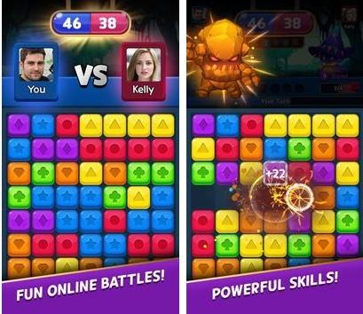 Puzzle Monsters - 1:1 Online Puzzle Battle