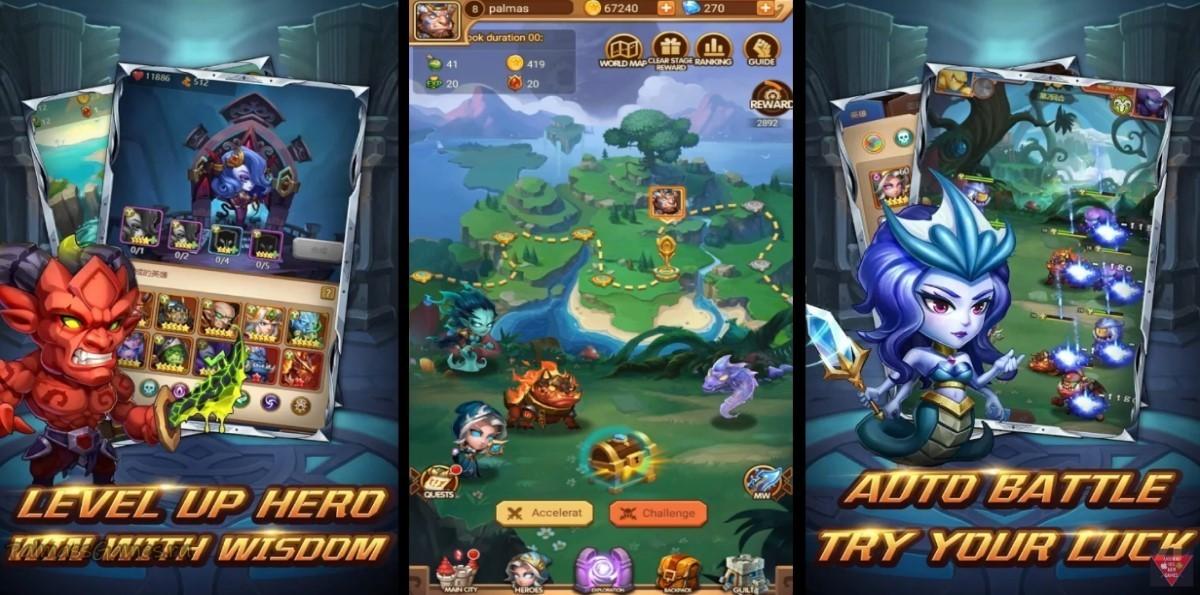 AFK War Heroes:RPG Games