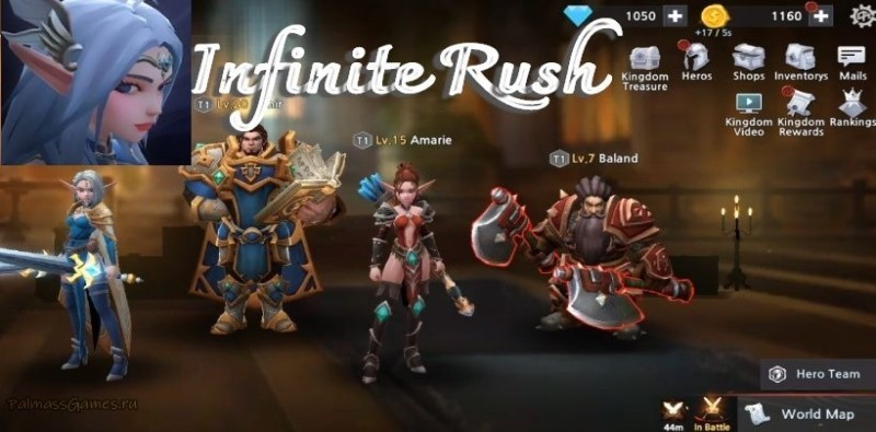 무한러쉬(Infinite Rush) - Idle Action RPG