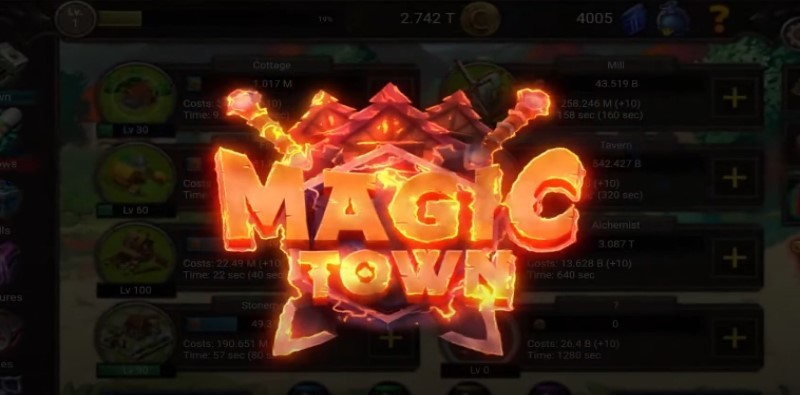 Magic Town Idle - RPG / Idle Game