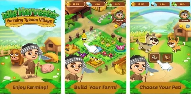 Idle Harvester: Farming Tycoon Village