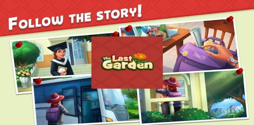The LastGarden match3 puzzle game